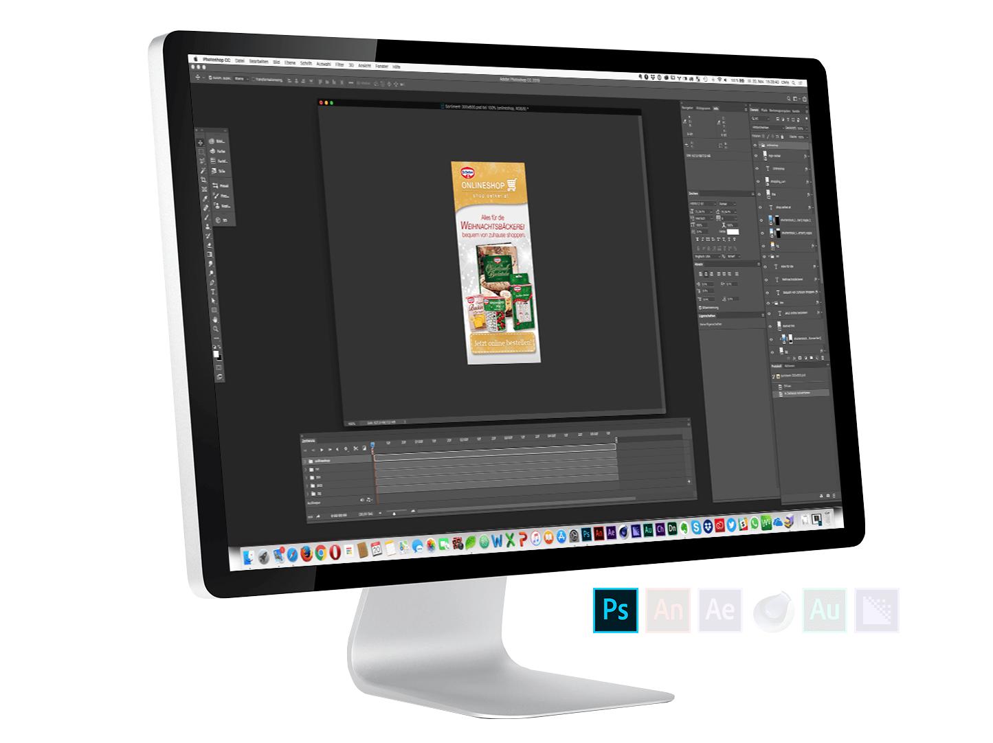 Portfolio - Onlineshop - Back- & Dekorsortiment